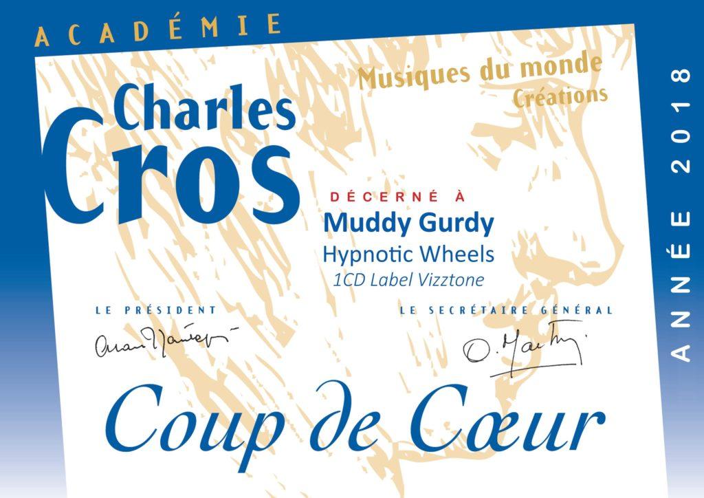 Coup de coeur académie Charles Cros